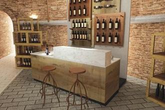 Arredo negozi a catania attrezzature per negozitricomi for Arredamento enoteca wine bar