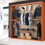 Arredamento negozi abbigliamento uomo