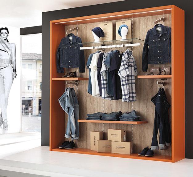 Arredamenti e attrezzature per negozi di abbigliamento for Negozi di arredamento catania