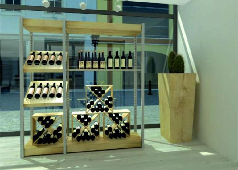 Progettazione e arredo enoteche wine bar pub catania for Arredo in via cavaliere catania
