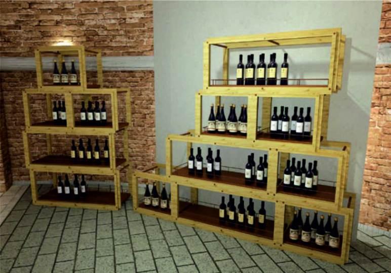 Arredamento enoteca wine bar for Arredamento enoteca