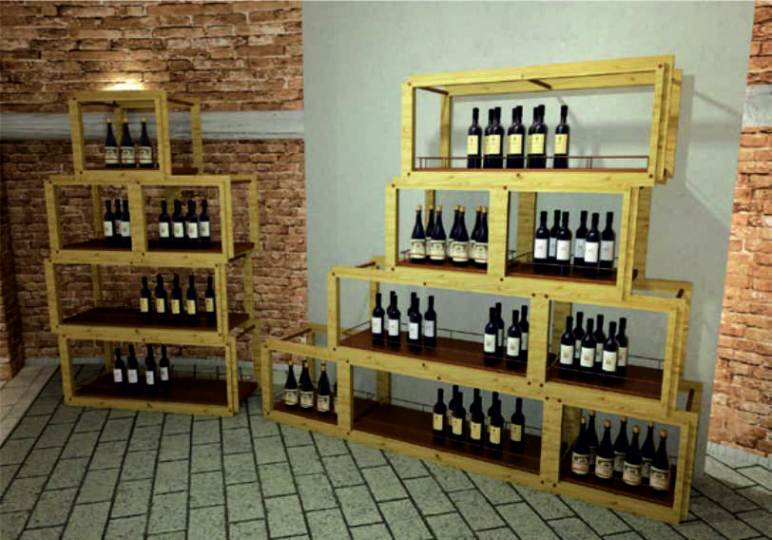 Arredamento enoteca wine bar for Idee per arredare enoteca