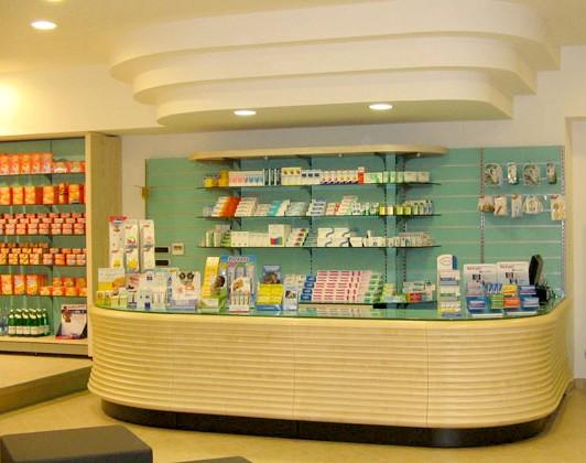 Arredamento farmacie e parafarmacie progettazione for Arredamenti per parafarmacie