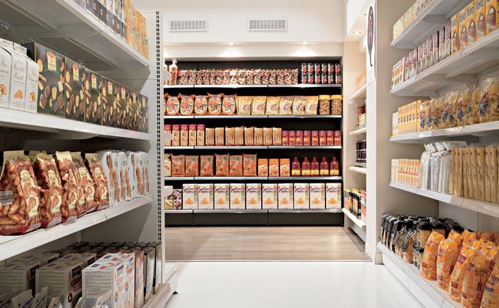Progettazione e arredo supermercati negozi sicilia for Arredamenti per supermercati